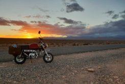 Moroccan MonkeyOctober 2018Monkey bike at dawn. Still life with awesomeness.