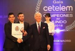 Gala Campeones Mundo RFME 201820
