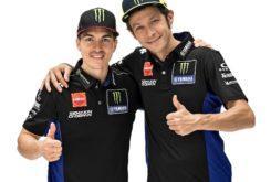 Maverick Vinales Valentino Rossi Yamaha MotoGP 2019 (3)