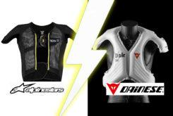 dainese d air alpinestars tech air tribunal