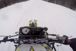 Suzuki GSX R 1000 motocross nieve
