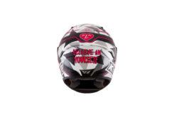KYT NX Race Aleix Espargaro rosa