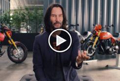 Play Keanu Reeves video coleccion motos