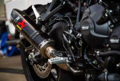Yamaha Niken Turbo preparacion Akrapovic