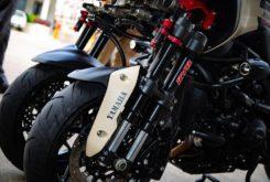 Yamaha Niken Turbo preparacion KYB