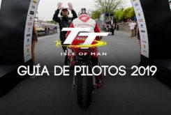 TT Isla de Man 2019 Guia pilotos equipos