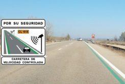radar lineas verdes carretera 2