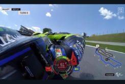 Caida Valentino Rossi Mugello 20192