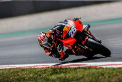 Dani Pedrosa KTM MotoGP Test Montmelo