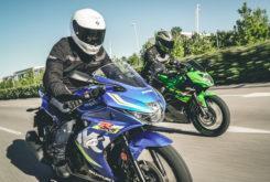 Kawasaki Ninja 125 vs Suzuki GSX R 125 (18)