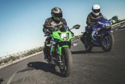 Kawasaki Ninja 125 vs Suzuki GSX R 125 (42)