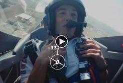 Marc Marquez avion acrobatico video 01