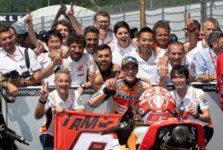 Marc Marquez podio MotoGP Mugello 2019