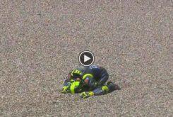 Valentino Rossi caida MotoGP Assen 2019 01