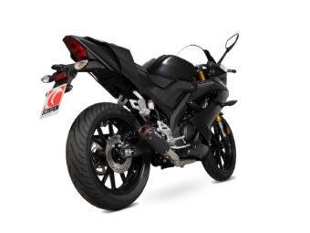 Escape Scorpion Yamaha YZF R125 2019 bihr1