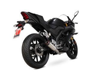 Escape Scorpion Yamaha YZF R125 2019 bihr6