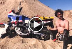 Honda Africa Twin Wilbur moto video