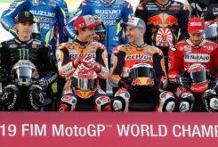 Marc Marquez Jorge Lorenzo Repsol Honda Team MotoGP 2019