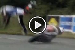 Michael Dunlop accidente caida Southern 100 fractura pelvis