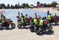 curso conduccion Ducati Madrid 09