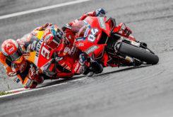 Andrea Dovizioso Marc Marquez GP Austria 2019