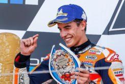 Marc Marquez podio MotoGP Silverstone 2019