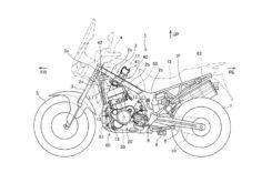 Honda africa twin CRF 1100L 2020 inyeccion directa patente