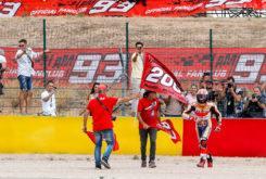 Marc Marquez celebracion MotoGP Aragon 2019