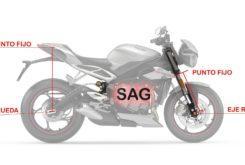 Suspensiones SAG medir ajuste