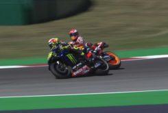 Valentino Rossi Marc Marquez incidente Q2 Pole GP Misano 2020 4