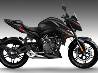 Voge 300R 2020 negra