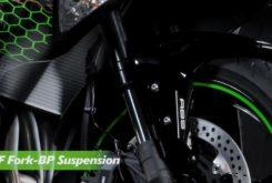 Kawasaki ZX 25R Ninja suspension