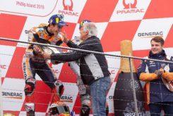 Marc Marquez Giacomo Agostini MotoGP Australia 2019