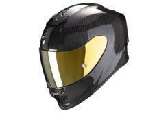 Scorpion exo r1 carbon solid black