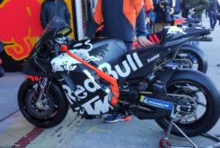 KTM RC16 2020 chasis viga aluminio tests motogp1