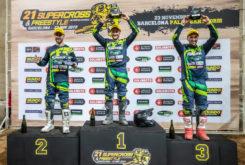 Kawasaki Team Green Cup supercross internacional barcelona podio