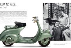 Libro Piaggio Vespa 125 flexible 1951 1957