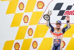 Marc Marquez podio MotoGP Malasia 2019
