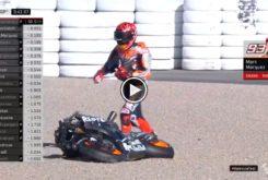 Marc Marquez caida test MotoGP Valencia 2019 01