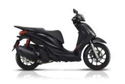 Piaggio Medley 125 150 s 2020 perfil negra mate