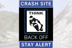 Señal luminosa radar DGT TWM moto aviso
