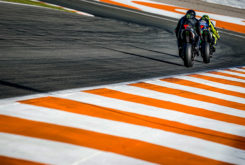 Valetino Rossi Lewis Hamilton Valencia 2019 06