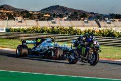 Valetino Rossi Lewis Hamilton Valencia 2019 18