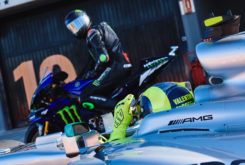Valetino Rossi Lewis Hamilton Valencia 2019 28