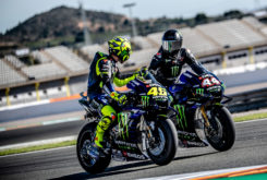 Valetino Rossi Lewis Hamilton Valencia 2019 39
