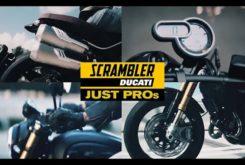 Ducati Scrambler 1100 Pro Sport teaser