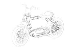 Harley Davidson scooter electrico patentes BikeLeaks04