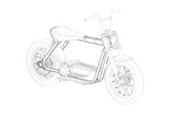 Harley Davidson scooter electrico patentes BikeLeaks07