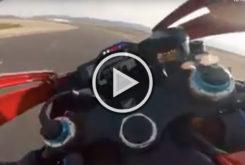 Honda CBR 1000 RR R 2020 video on board circuito