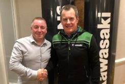 John McGuinness Kawasaki TT Isla Man 2020